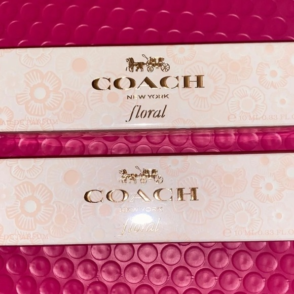 Coach Floral 2 Pack